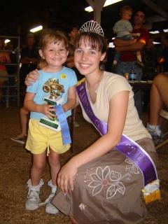County Fair Queen.