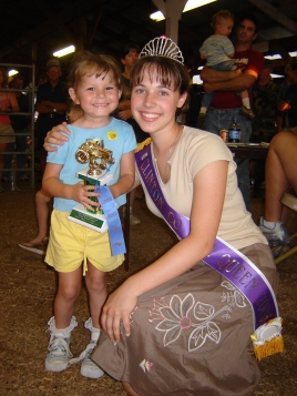 County Fair Queen.