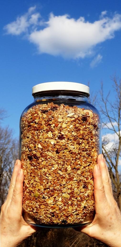 Pairodox granola http://wp.me/p1yRFa-SE