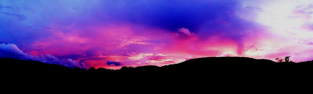 Pennsylvania sunset http://wp.me/p1yRFa-1fd