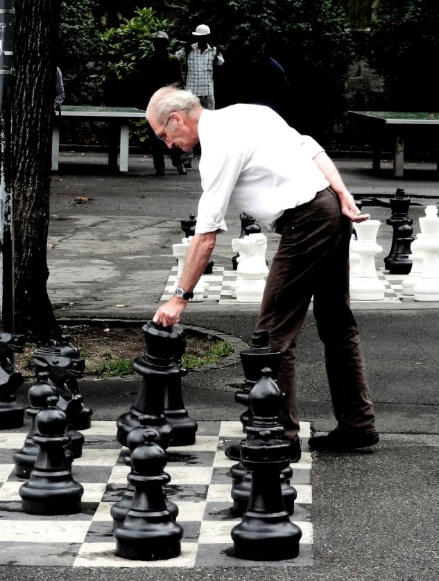Chess in Geneva.