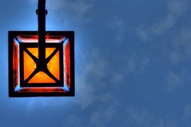 Street lamp in Nyon.