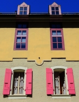Shutters in pastel, Nyon.
