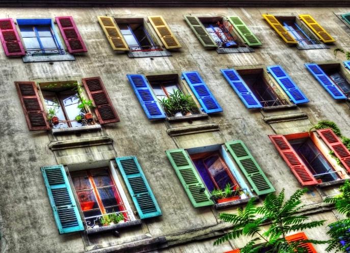 Windows of the City.