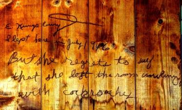 Child's note