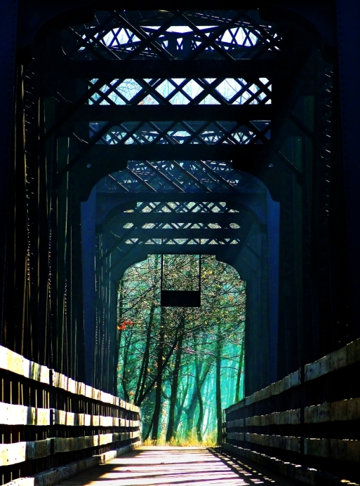 Steel truss bridge, http://wp.me/p1yRFa-2cR