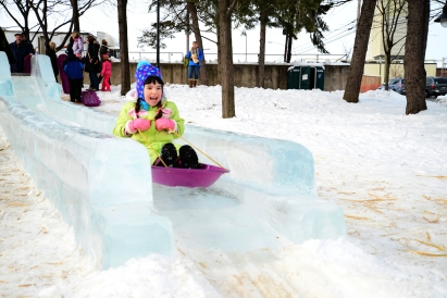 Russian Ice Slide.