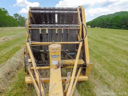 Baling hay, http://wp.me/p1yRFa-3fD