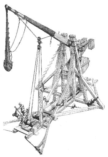 Historic Trebuchet.