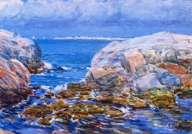 Childe Hassam, Duck Island, Isles of Shoals, 1906