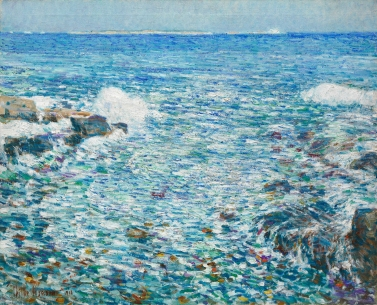 Childe Hassam, Surf, Isles of Shoals, 1913